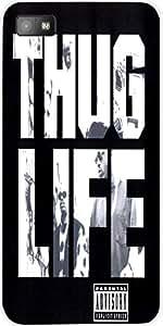 Snoogg THUG LIFE Case Cover For Blackberry Z10 bbz10