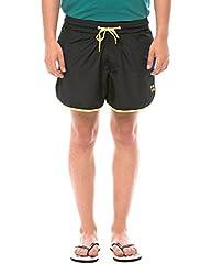 Prym Men's Polyester Shorts (8907423002524_2011517002_30_Black)