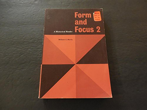 form-and-focus-2-a-rhetorical-reader-sc-1964-harcourt-brace