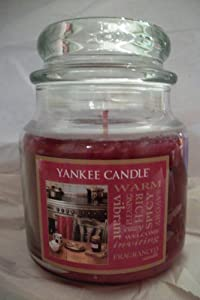 Yankee Candle 14.5 oz Jar Candle WARM SPICES - Retired Scent