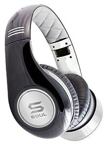 SOUL by Ludacris SL300WB HD Kopfhörer (geräuschisoliert) Schwarz / Weiß