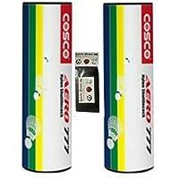 Cosco 777 White Nylon Shuttlecocks (pack Of 12) WITH FREE SPORTSHOUSE WRIST BAND