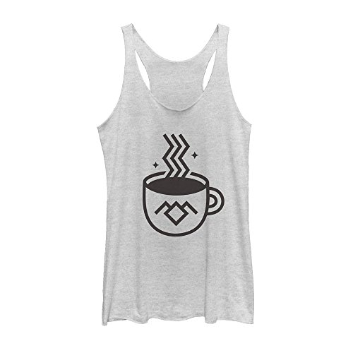 Twin Peaks Owl Cave Coffee Cup Womens Graphic Racerback Tank (Twin Peaks Clothes compare prices)