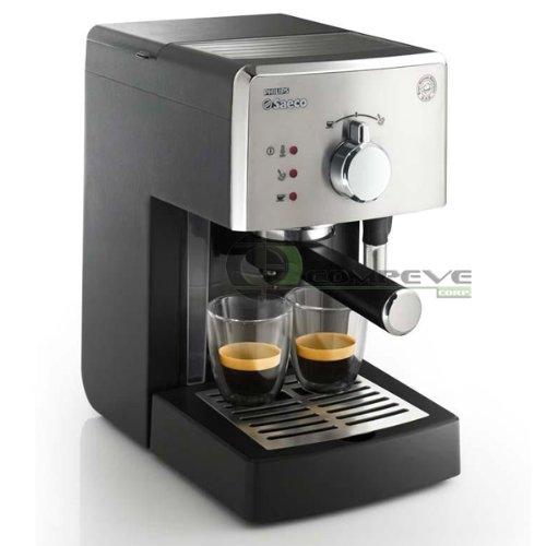 Philips Saeco Poemia Manual Espresso Coffee Machine Pressurized Filter Crema HD8325/47