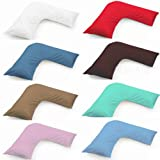 Hometex Orthopaedic Maternity Pregnancy Nursing Back Support V Shaped Pillow No Cover - Pillow only Multicoloured