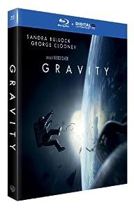 Gravity - Oscar® 2014 du Meilleur Réalisateur - Blu-Ray + DIGITAL Ultraviolet [Blu-ray] [Blu-ray + Copie digitale]