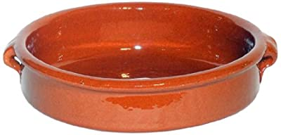 Amazing Cookware Natural Terracotta 25cm Round Dish (2 Person)