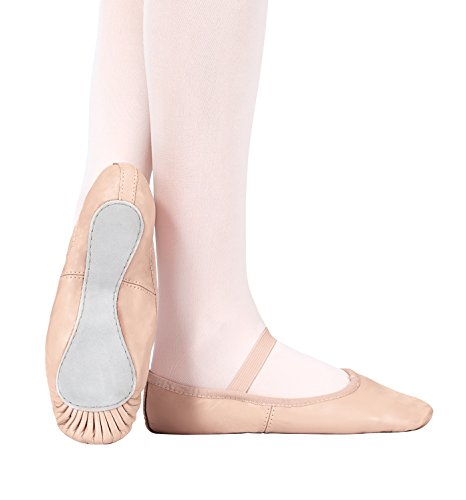 Child Premium Leather Full Sole Ballet Shoes,T2000CPNK10.5M,Pink,10.5M (Pink Ballet Shoes compare prices)