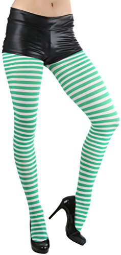 ToBeInStyle Women's Striped Tights