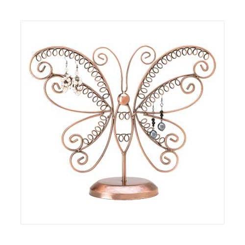 .com - Butterfly Earring Holder - Organize Your Pierced Earrings