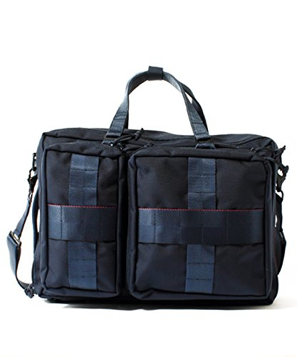 "[ビームスプラス] BEAMS PLUS BRIEFING×BEAMS PLUS / 別注 ""3WAY BAG""NAVY 11610946106 79 (NAVY/ONE SIZE)"