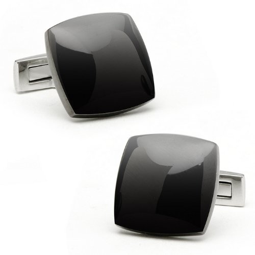 Stainless Steel Black Pvd Cufflinks