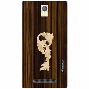 Xolo Era Back Cover - Silicon Wood Designer Cases