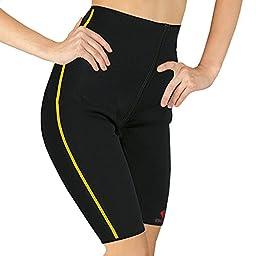 NEOPRENE SLIMMING SHORTS, Lose Weight Abdominal Warmer, Tummy Tuck Workout Pants