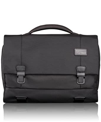 途米 Tumi Luggage T-Tech Network Laptop Flap 男士单肩旅行公文包$151.35