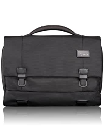 Tumi Luggage T-Tech Network Laptop Flap Brief, Black, One Size