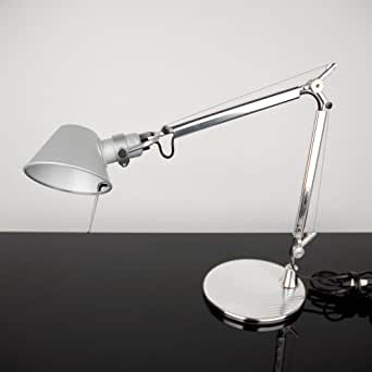 Artemide tolomeo micro lampada tavolo con base alluminio illuminazione - Amazon lampade da tavolo ...