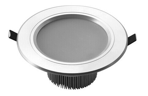 Lightmate® 9W/ 4 Inch/Cut-Out Dimension:13Cm/Antifogging/Household Office Led White Round Recessed Ceiling Cabinet Light Lamp Bulb Downlight Ac85V - 265V+ Led Driver