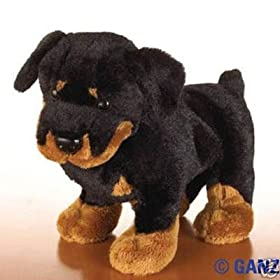 Webkinz Rottweiler