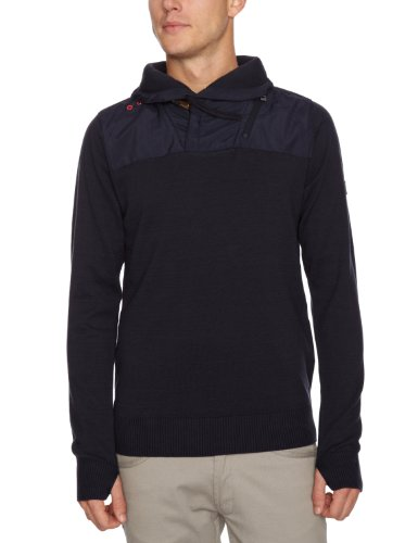 Bench Hammond Men's Jumper Dark Navy Blue Small