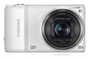 "Samsung WB250F Appareil photo numérique 14,2 Mpix Ecran 3"" WiFi USB Blanc"
