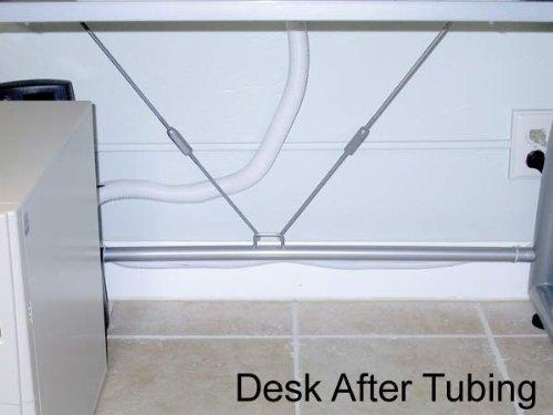 Flexible Nylon Slit Convoluted Wire Loom, 1/2 Inch Diameter, 20 Feet, Blue