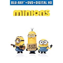 MINIONS on Digital HD November 24 and on Blu-ray Combo Pack, DVD and On Demand on December 8 from Universal Pictures