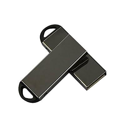 LingsFire 2 Pack Mini Metal USB2.0 Flash Drive 4G Memory Stick U Disk Storage Thumb Stick Pen USB Flash Drives...