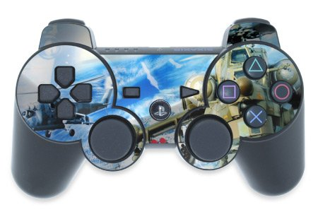 Mygift Gunship Design Ps3 Playstation 3 Controller Protector Skin Decal Sticker