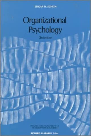 Organizational Psychology (3rd Edition)