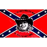 CONFEDERATE FLAG HANK WILLIAMS ~ WILDFLAGS