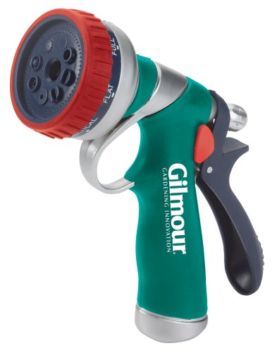 Gilmour Pistol Grip Nozzle 327 Teal/Red