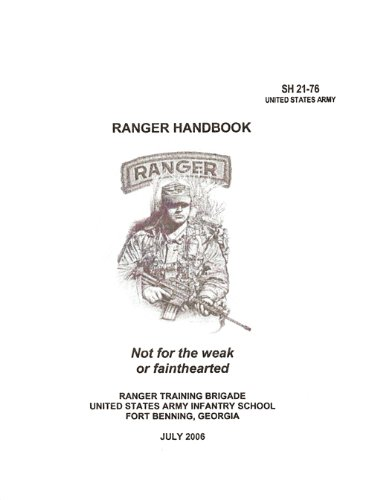 Ranger Handbook Army (Newest)