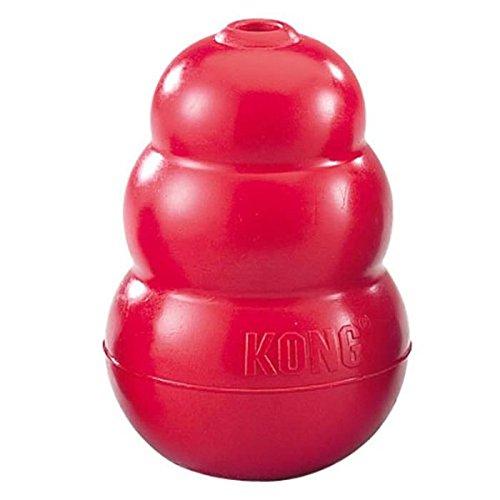 Cani Kong originale Kong Chew giocattolo, grande, rosso