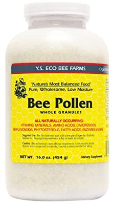 YS Organic Bee Farms - Low Moisture Bee Pollen Whole Granules