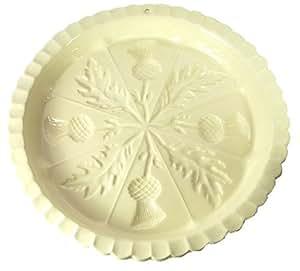 Victorian Pottery Scottish Thistle Shortbread Mold