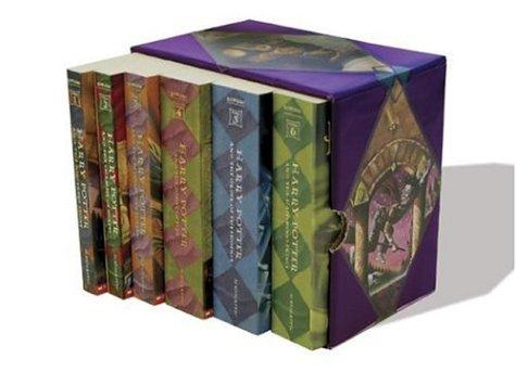 Harry Potter Paperback Box Set (Books 1-6) by J. K. Rowling