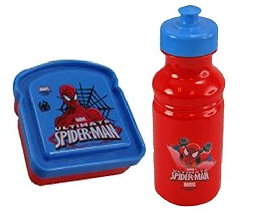 Ultimate Marvel Spider-man Boys 2pc Lunch Set! - 1