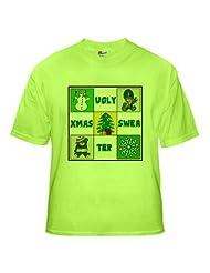 Christmas Sweater Green T Shirt CafePress