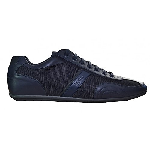 Hugo Boss Men's Hugo Boss Red Men's Dark Blue Thatoz Trainers 7 UK/41 Euro thumbnail