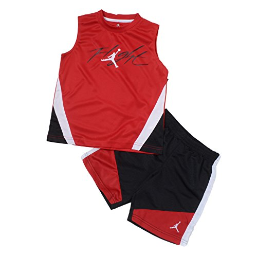 Nike Jordan Filght Boys 2 Piece Muscle Shirt & Shorts