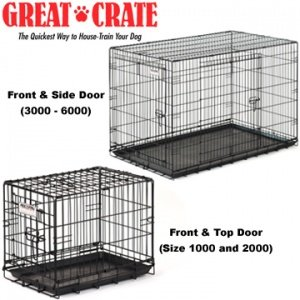 Table Dog Crate front-1042938