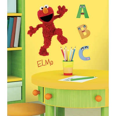 Sesame Street Nursery Decor