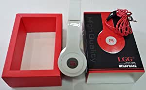 LGG New York High Output Headphones with microphone Must see (White)
