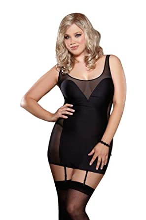 Amazon.com: Dreamgirl Women's Plus-Size Seducing Danger ...