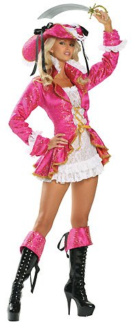 Roma Costume Women's Passion Pirate Sexy Pirate Costumes For Women