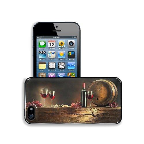 Red Grape and Wine Apple iPhone 5 / 5S Premium Aluminium Snap Cover