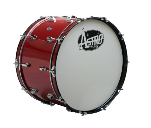 Astro Marching MR2014B-RD 20 - Inch Bass Drum