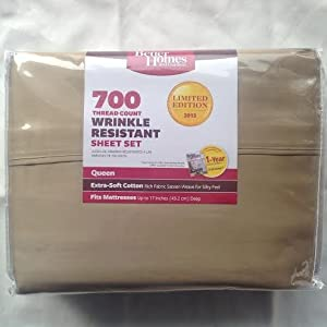 Better Homes And Gardens 700 Thread Count Wrinkle Resistant Sheet Set