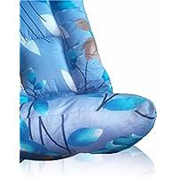 Amaranthus Futon Bed Mattress - Twin Size 4 x 6 Feet (48x72 Inch) Poly-fiber Filled Foldable Mattress